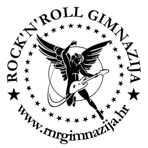 logo ROCK'N'ROLL GIMNAZIJA